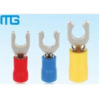 China Pre - Insulating Locking Spade Insulated Wire Terminals LSV LSVL LSVS T23 - Copper With Tin Plated wholesale