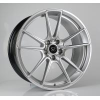 China Porsche Forged Wheels 19 inch hyper silver aluminum alloy car wheel rims factory china wholesale