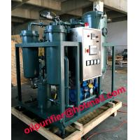 China stainless steel PLC turbine lube oil filtering machines,turbine oil dehydration system wholesale