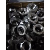 China Heavy Hex Nut Stainless Steel 310S Hardware Fasteners DIN934 1/4'' - 5'' ASME Size on sale