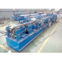 China Auto Change Size Cz Purlin Machine Quick Punching Unit For Galvanized Steel Sheet wholesale