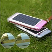 3 USB Ports 5V Solar Charger Portable Power Pack Rainbow Camping Light