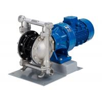 Buy cheap Electric diaphragm pump made of stainless steel double diaphragm inlet   outlet DN80 product