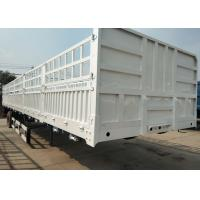 China High Speed Dropside Semi Trailer Truck For Logistic Industry 3 Axles wholesale