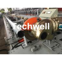 China 0.4-1.2mm Octagonal Tube Pipe Roll Forming Machine Equipment With Guiding Column And Slide Blocks Forming Structure wholesale