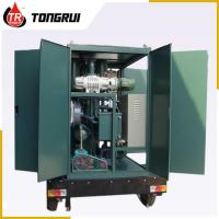 China Vacuum Transformer Oil Purifier 30L/min Double Stage ZJA Easy Handling wholesale