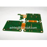 Buy cheap Multilayer Mix Rigid Flexible PCB L2-18 Gold Plating Blind / Burried Vias from wholesalers
