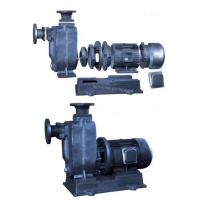 China ZWL Self priming sewage pump with closed coupling  not clogging centrifugal pump wholesale