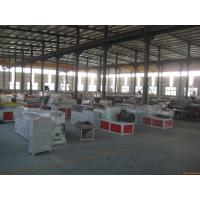 Quality Double - Screw PVC Wood Plastic Board Production Line For Window Profile for sale