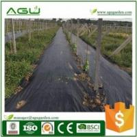Buy cheap Stop weed grow weed control lawn barrier Roll length 50m black -green from wholesalers
