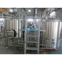 China Craft Beer Making System,Fresh Wheat Beer Making Kit Ale Beer Brewing System From China,Malt Beer Brewery Equipment wholesale