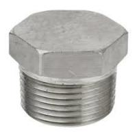 China Hex Head Plug  NPT Thread Male   Stainless Steel ASTM A182 F304 wholesale