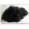 China Black Non Woven Psf Polyester Staple Fiber 6 Denir For Construction / Carpets wholesale