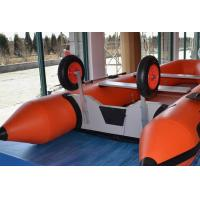 China Size Customized Inflatable Boat Wheels , Aluminum Inflatable Dinghy Wheels For Towing wholesale
