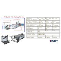 China Vinot Supplier High Speed Nice Quality Air Bubble Film Machine  Customized for U.S. Model No. DYF-1200 wholesale