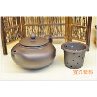 China Art Collective Use Authentic Yixing Teapot , Purple Sand Teapot Custom Pattern wholesale