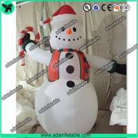 China Cute Snowman Inflatable,Snow man Cartoon ,Snow man Mascot, Christmas Decoration wholesale