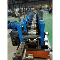 China C / Z Purlin Roll Forming Machine , Sheet Metal Roll Forming Machines wholesale