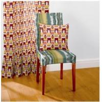 Heat Transfer Printing Office Chair Pads Indoor Excellent Wash Color Fastness