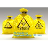 China Color Custom Super Large Biohazard Waste Bag, Biohazard Collection Bags/Custom Colored sterile medical bags bags for Lab wholesale