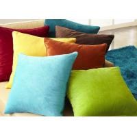China Multiple Colors Elegant Couch Pillow Covers Soft Comfortable For Bed / Car wholesale
