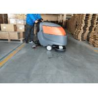 China 13 Inch Brush Suit Floor Scrubber Dryer Machine For Large Cleaning Area wholesale