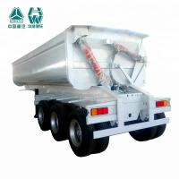 China Heavy Duty Construction Tipper Semi Trailer For Cartage Raw Mining Products wholesale