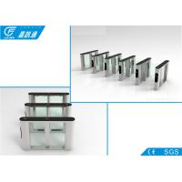 China Outdoor Semi Automaticwaist Height Turnstile ,  Solenoid Bio - Metric Gym Access Control wholesale