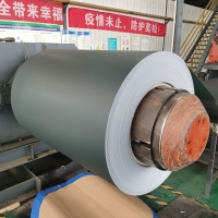 China 1050 1060 1070 1100 3003 5052 H28 H14 Prepainted Colored Coated Aluminum Sheet Coil Strip For Roofing wholesale