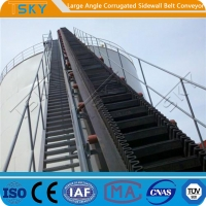 China SGS Large Angle 2.5m/s B1000 Rubber Belt Conveyor wholesale
