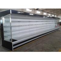China Large Supermarket Project Freezer With Multideck Showcase / Meat Counter wholesale