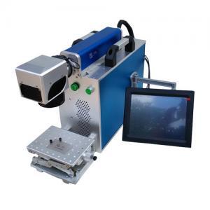 China Stainless Steel Sheet Metal Marking Machine , Fiber Optic Laser Engraving Machine wholesale