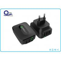 China 3 Ports 25W Qualcomm Quick Charge 3.0 & Smart USB Charger Wall Charger for Apple wholesale