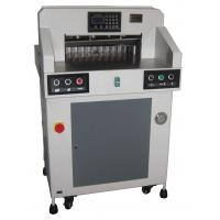 China Hydraulic Programmable Paper Cutting Machine 490mm With Digital Display wholesale
