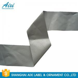China Customized Safety Reflective Clothing Tape Ribbons Fluo Orange / Fluo Yellow wholesale