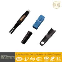 China Pre Assembled  Fiber Optic Adapter Ftth SM SC Optical Connector For Drop Cable wholesale