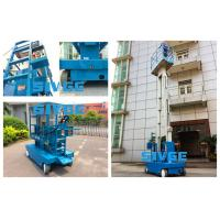 China Dual Mast Self - Propelled Aluminum Work Platform With 8m Platform Height wholesale