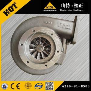China Big model engine spare parts, SAA6D170-3 turbocharger 6240-81-8500 for wheel loader WA700 wholesale