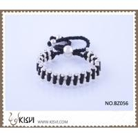China Hot Selling Handmade Bracelet in Black Colour BZ056 wholesale