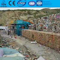 China FDY-1250 Full automatic waste paper OCC scrap baling press machine with TUV on sale