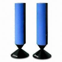 China Speaker with 1.5W x 2CH RMS, Measuring 2 x 2.25cm wholesale
