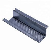 China Silver White Metal Stud U Channel , Metal Carrying Channel Excellent Wear Resistance wholesale