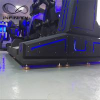 Quality Black / Blue VR Motion Simulator Game Machine Two Seats VIULUX V8 Glasses for sale