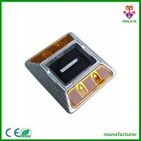China yellow led flash double sided cat eye reflector solar led road markers wholesale
