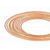 China 3 / 16 Air Conditioning Copper Pancake Coil Thickness 0.28 - 0.81mm Diameter 4.76mm on sale