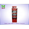 China Recycled Cocktail Pop Custom Cardboard Displays , Red Free Standing Cardboard Displays wholesale