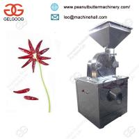 China Stainless Steel CommercialDry Red Chilli Powder Grinding Machine Manufacturer on sale