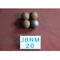 Quality High Hardness 63hrc Hot Rolled Grinding Media Steel Balls , Precision Steel for sale