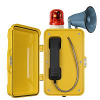 China Auto Dial Industrial Weatherproof Telephone Vandal Proof With Broadcast wholesale
