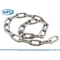 China Corrosion Resistance Lifting Accessories For Cranes Welded Chain Structure wholesale